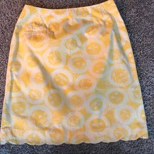White Label Lilly Pulitzer Yellow Skirt -6